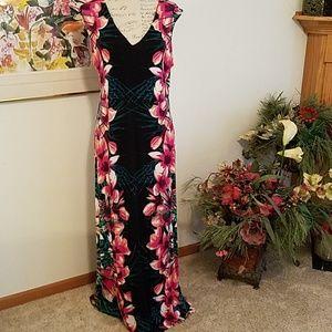 Floral Summer Dress XL